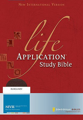 Life Application Study Bible-NIV B-NI-ZON BUR RL REV/E [ Zondervan Publishing ]