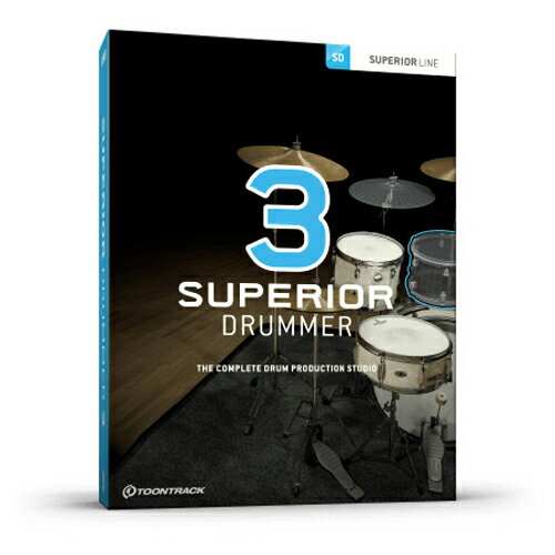 SUPERIOR DRUMMER 3 / BOX