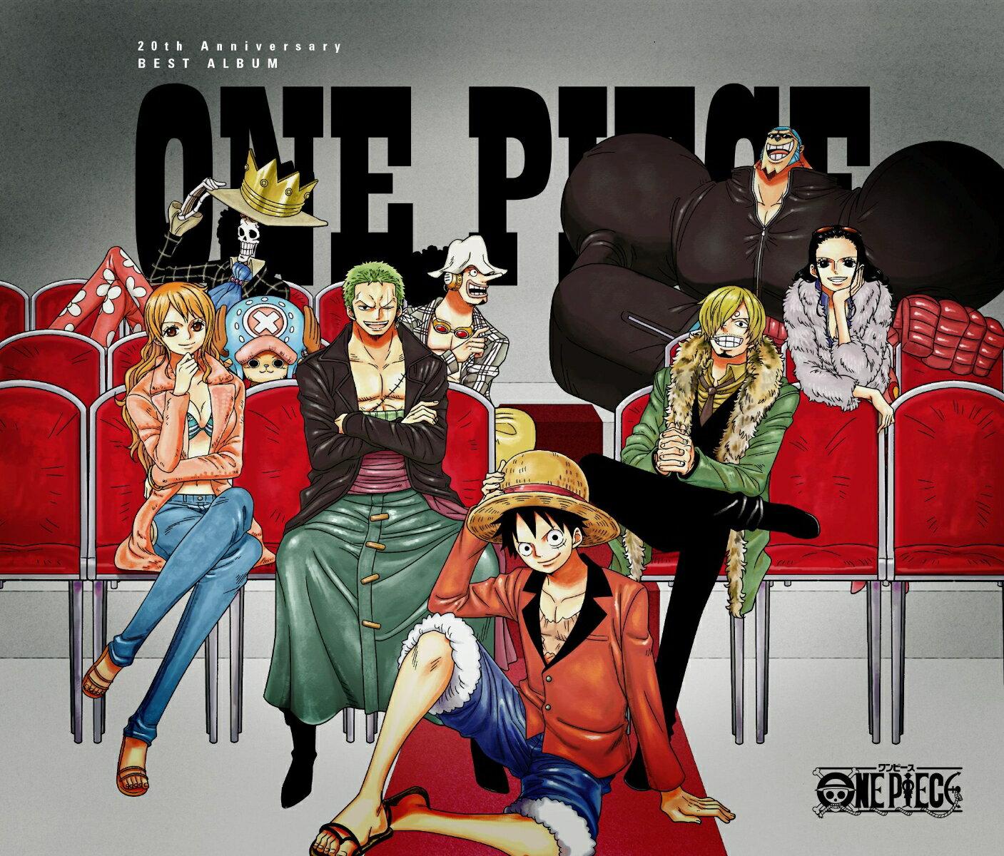 ONE PIECE 20th Anniversary BEST ALBUM画像