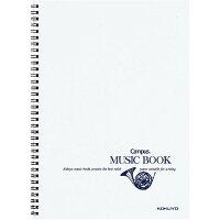 コクヨ ノート キャンパスノート 音楽帳 ツインリングとじ A4 五線譜 12段 オンーT10