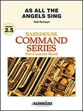 【輸入楽譜】ロメイン, Rob: As All the Angels Sing: スコアとパート譜セット画像