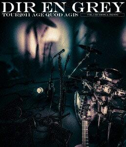 TOUR2011 AGE QUOD AGIS Vol.1 [Europe & Japan]【Blu-ray】画像