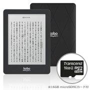 Kobo Glo (ブラックナイト)& 16GB microSDカードセット