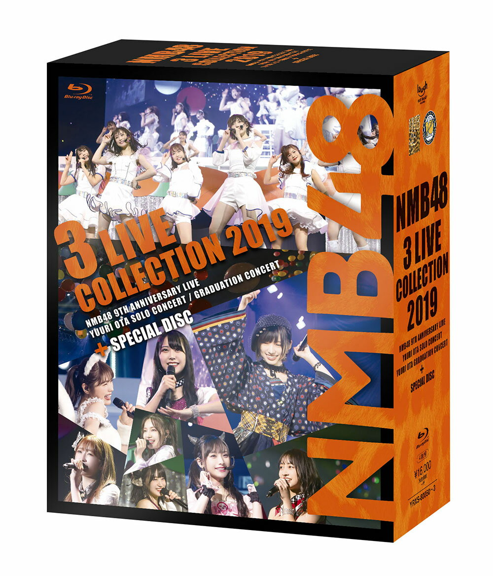 NMB48 3 LIVE COLLECTION 2019【Blu-ray】