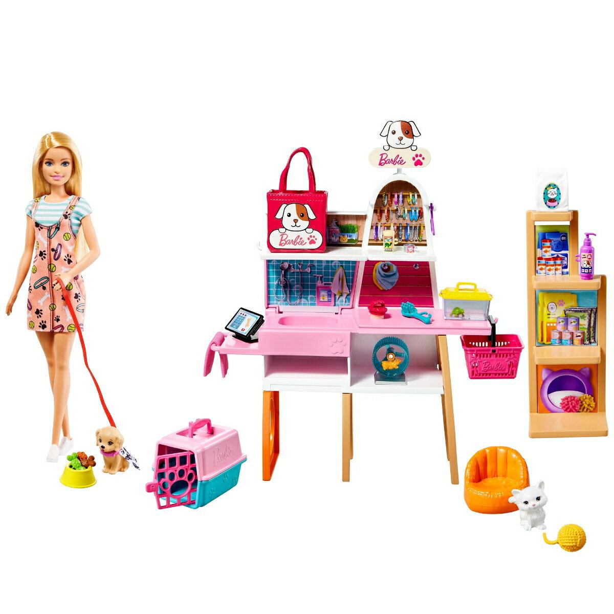 バービー(Barbie) ペットショップ トリミングも! GRG90
