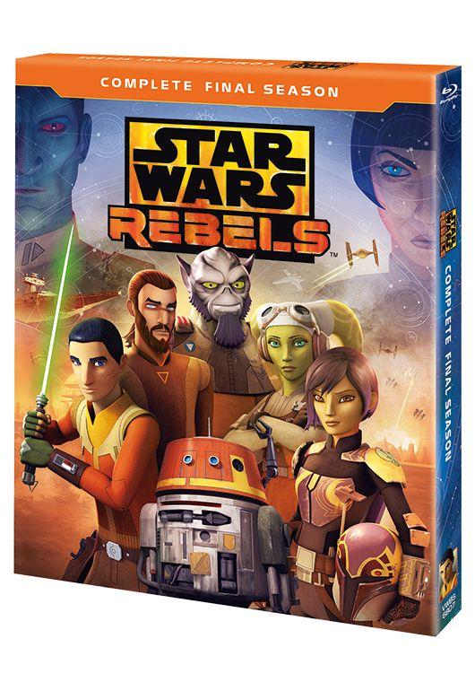 スター・ウォーズ 反乱者たち ファイナル・シーズン BDコンプリート・セット【Blu-ray】