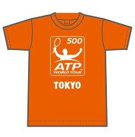 【楽天ジャパンオープン】ドライTシャツ オレンジ【Mサイズ】