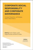 Corporate Social Responsibility and Corporate Governance: Concepts, Perspectives and Emerging Trends CORPORATE SOCIAL RESPONSIBILIT (Developments in Corporate Governance and Responsibility) [ David Crowther ]