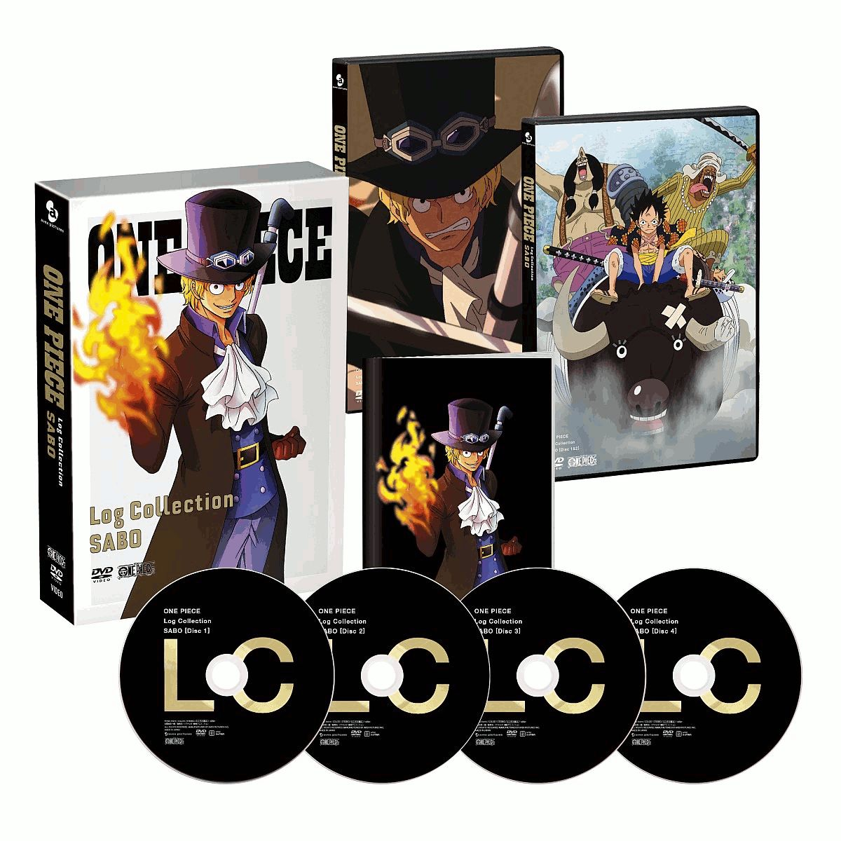 アニメ, その他 ONE PIECE Log Collection SABO