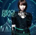 藍井エイルのシングル曲「IGNITE ()」のジャケット写真。