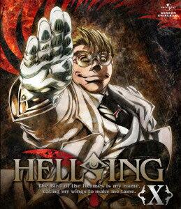 HELLSING 10【Blu-ray】画像