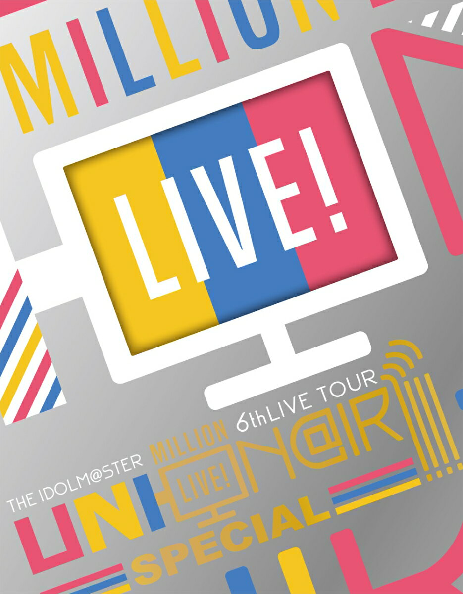 THE IDOLM@STER MILLION LIVE! 6thLIVE TOUR UNI-ON@IR!!!! LIVE Blu-ray SPECIAL COMPLETE THE@TER(完全生産限定)【Blu-ray】