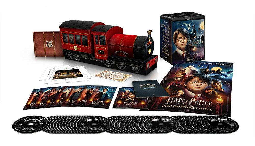 【1000 セット限定生産/シリアル番号入り 】ハリー・ポッター 8 Film ホグワーツ・エクスプレス コレクターズ BOX 4K ULTRA HD& ブルーレイセット>(33枚組)【4K ULTRA HD】