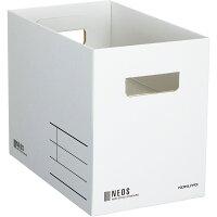 コクヨ 収納ボックス NEOS Mサイズ ホワイト A4-NEMB-W