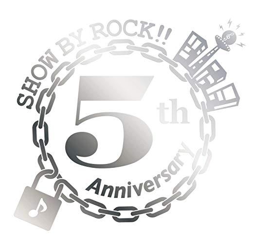 「SHOW BY ROCK!!」5周年記念シングル「ENDLESS!!!!」画像