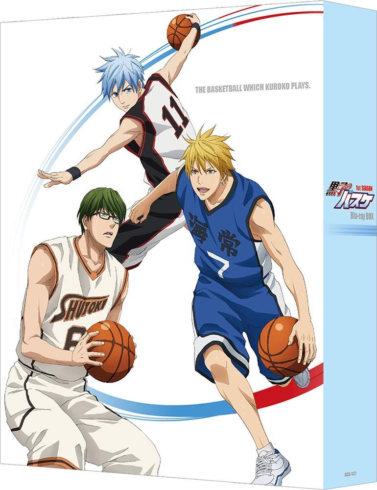 黒子のバスケ 1st SEASON Blu-ray BOX【Blu-ray】