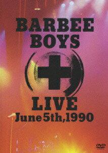 BARBEE BOYS LIVE June 5th,1990画像