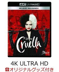 【楽天ブックス限定グッズ+先着特典】クルエラ 4K UHD MovieNEX【4K ULTRA HD】(コレクターズカード+オリジナル・ポストカードセット)