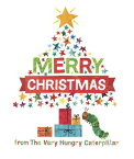 MERRY CHRISTMAS VERY HUNGRY CATERPILLAR [ ERIC CARLE ]