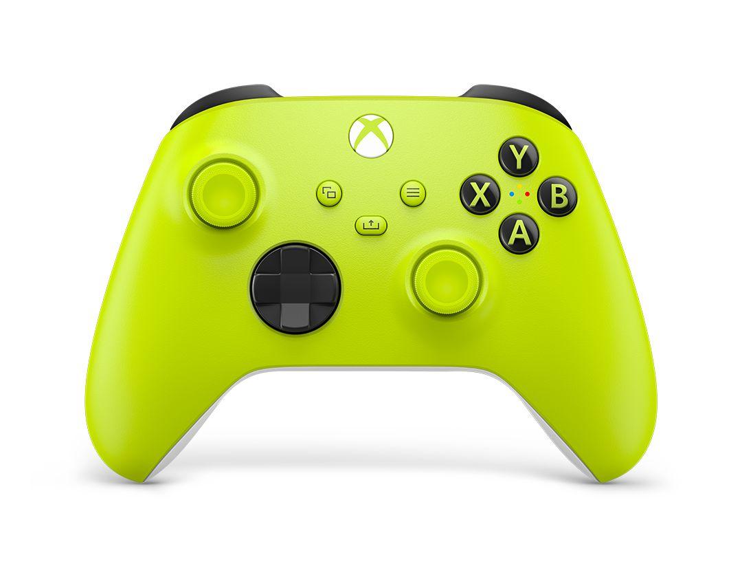 Xbox ワイヤレス コントローラー (エレクトリック ボルト)