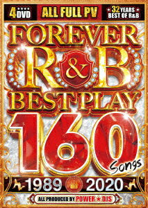 FOREVER R&B BEST PLAY 160 SONGS 1989-2020画像