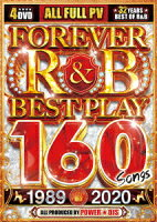 FOREVER R&B BEST PLAY 160 SONGS 1989-2020