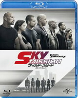 ワイルド・スピード SKY MISSION【Blu-ray】