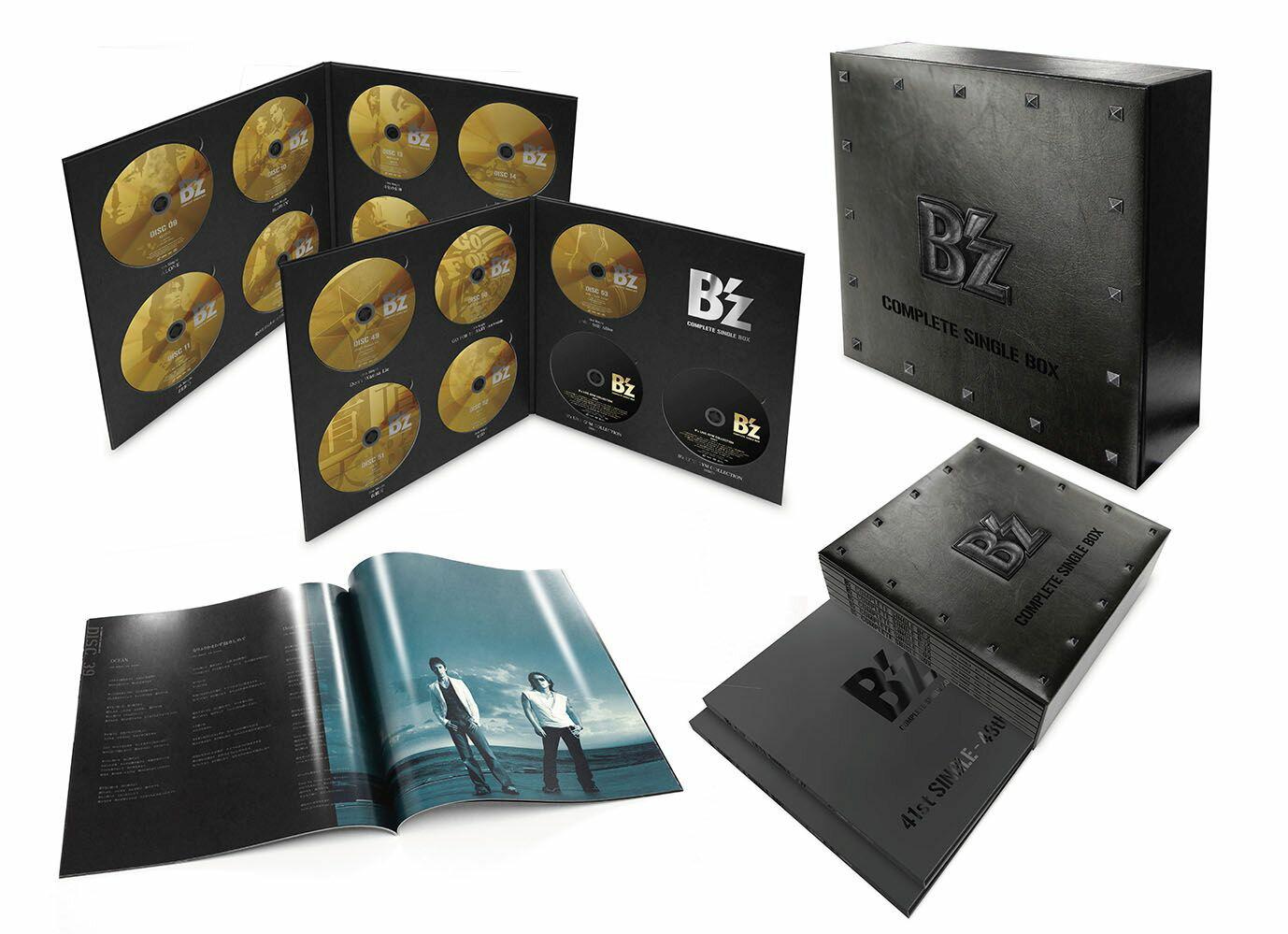 ロック・ポップス, その他 Bz COMPLETE SINGLE BOX Black Edition Bz