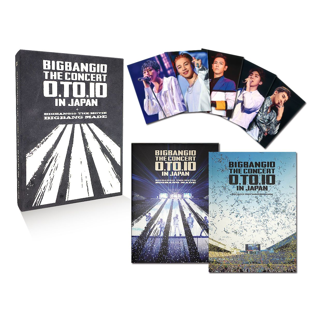 BIGBANG10 THE CONCERT : 0.TO.10 IN JAPAN + BIGBANG10 THE MOVIE BIGBANG MADE[Blu-ray(3枚組)+LIVE CD(2枚組)+PHOTO BOOK+スマプラムービー&ミュージック] -DELUXE EDITION-(初回生産限定)画像