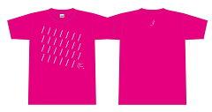 【TOKYO ART FLOW】オフィシャルTシャツ(ピンク)【Lサイズ】