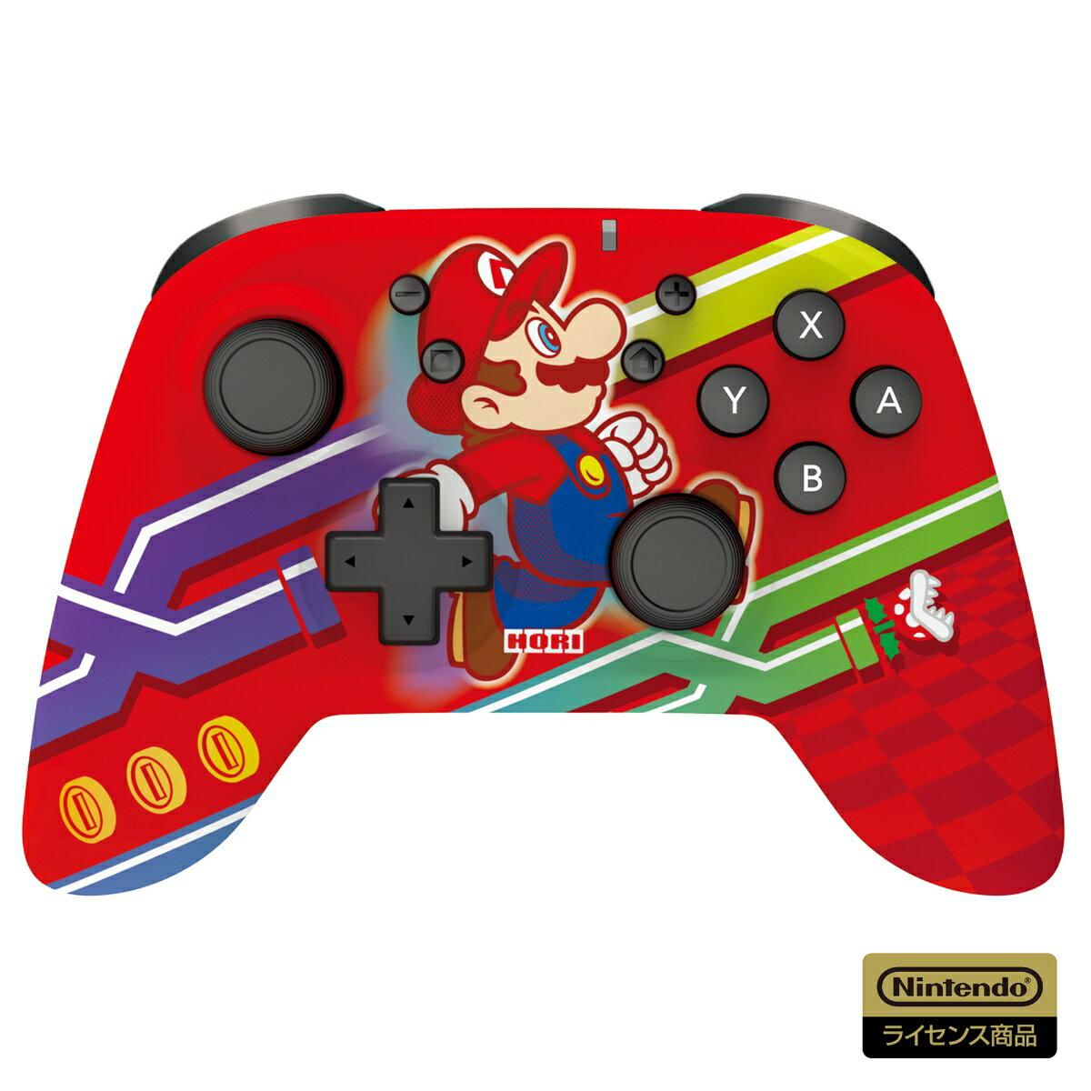 ワイヤレスホリパッド for Nintendo Switch スーパーマリオ エディション
