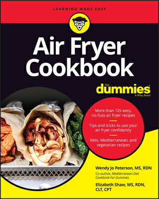 Air Fryer Cookbook for Dummies画像