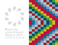 Perfume Anniversary 10days 2015 PPPPPPPPPP「LIVE 3:5:6:9」【Blu-ray Disc2枚組+豪華フォトブックレット+3:5:6:9コーナー 指示書】【初回限定盤】