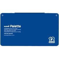 三菱鉛筆 色鉛筆 880級 ユニパレット 12色 青 K88012CPLT.33