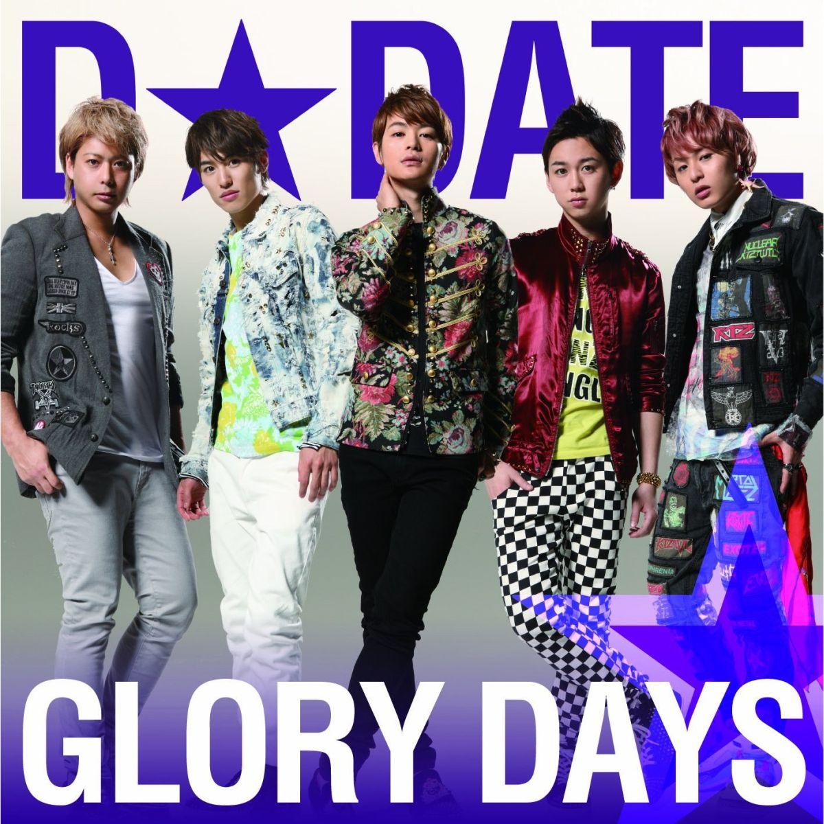 GLORY DAYS(通常盤C)画像