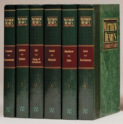 Matthew Henry 6v No CD Plain: Complete and Unabridged in 6 Volumes画像