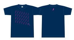 【TOKYO ART FLOW】オフィシャルTシャツ(ネイビー)【Lサイズ】