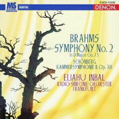 ブラームス - 交響曲 第1番 ハ短調 作品68(エリアフ・インバル)