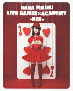 NANA MIZUKI LIVE GAMES×ACADEMY【RED】【Blu-ray】画像