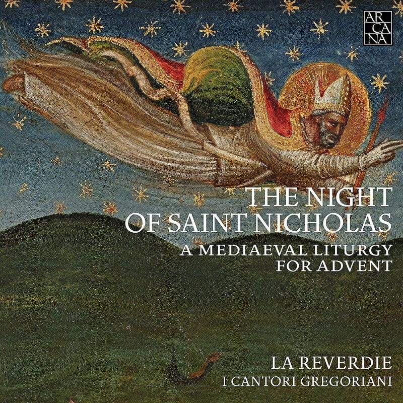 【輸入盤】The Night Of Saint Nicholas-a Medieval Liturgy For Advent: La Reverdie Cantori Gregoriani画像