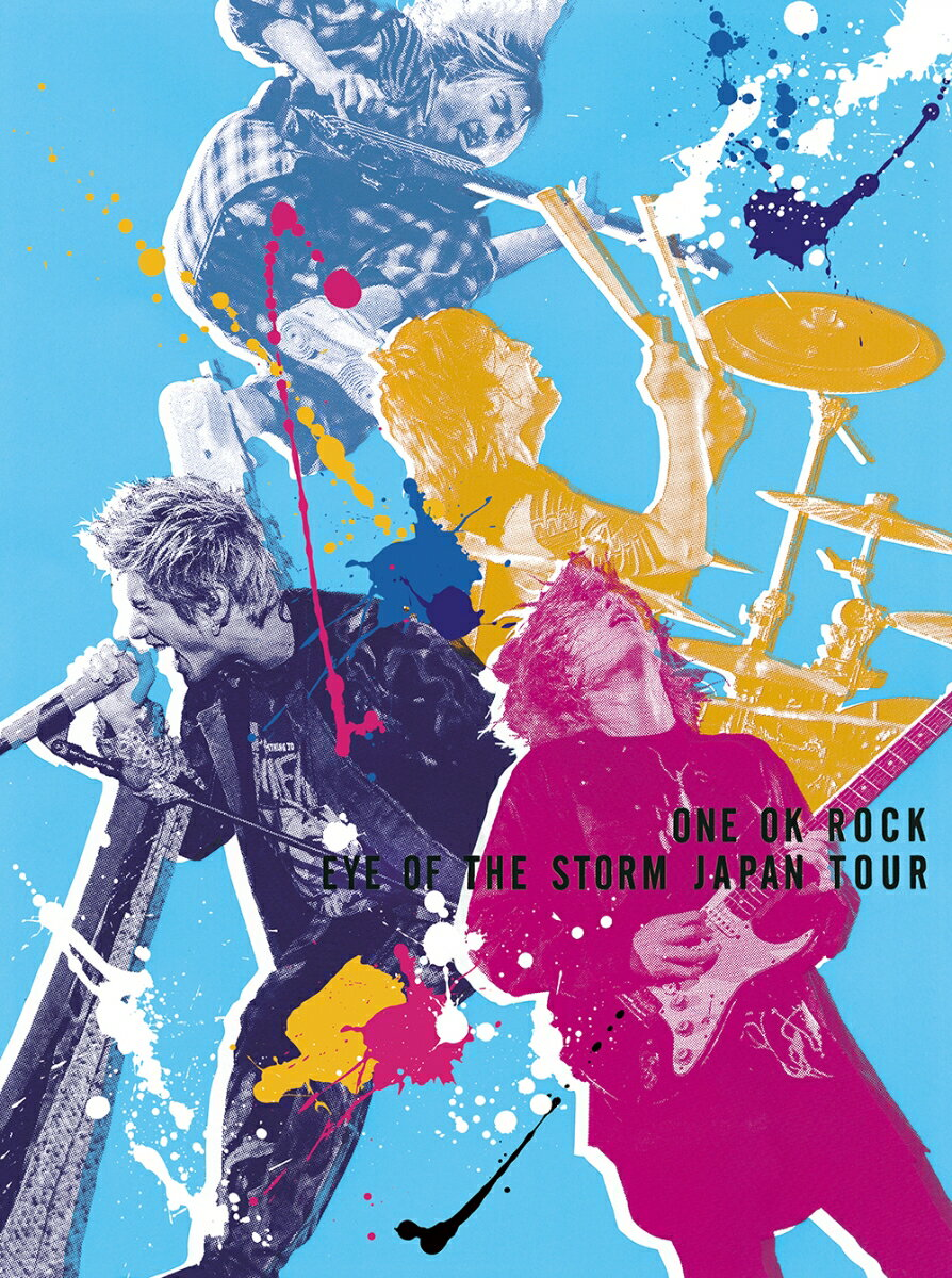 "ONE OK ROCK ""EYE OF THE STORM"" JAPAN TOUR【Blu-ray】"