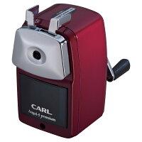 カール事務器 鉛筆削り エンゼル5 プレミアム レッド A5PR-R