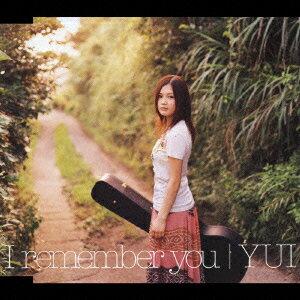 【送料無料】I remember you [ YUI ]