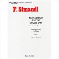 シマンドル, Franz: 新コントラバス教本 第2巻 (日本語・英語)