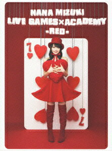 NANA MIZUKI LIVE GAMES×ACADEMY【RED】画像