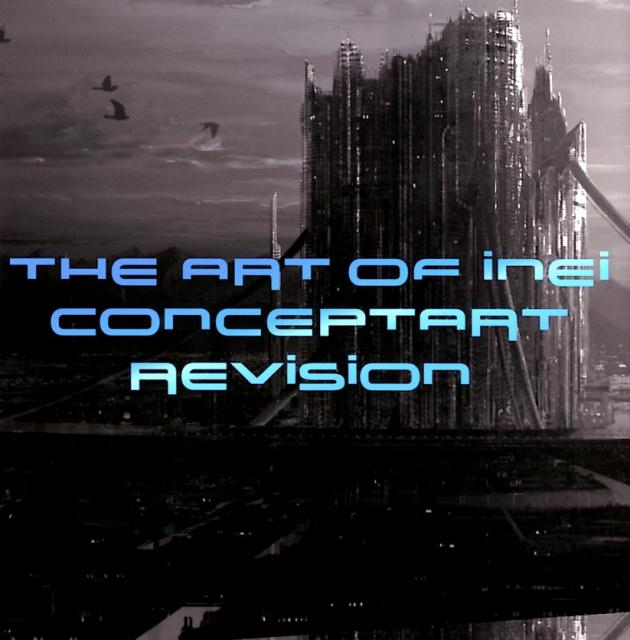 The Art of INEI コンセプトアート REVISION画像