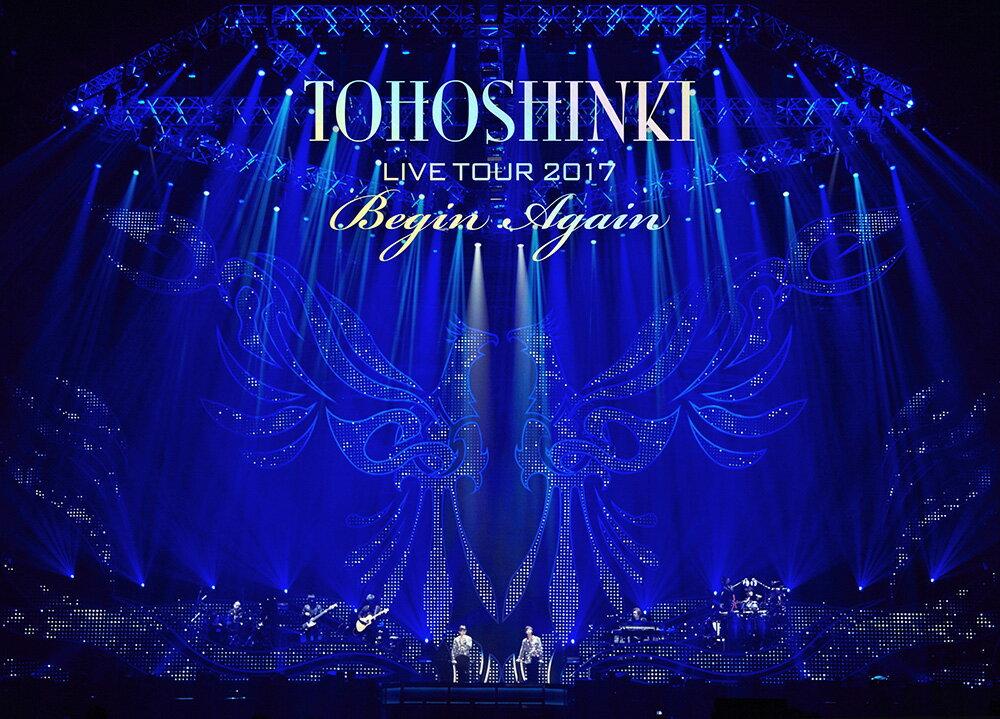 東方神起 LIVE TOUR 2017 ~Begin Again~ DVD3枚組(スマプラ対応)(初回生産限定)