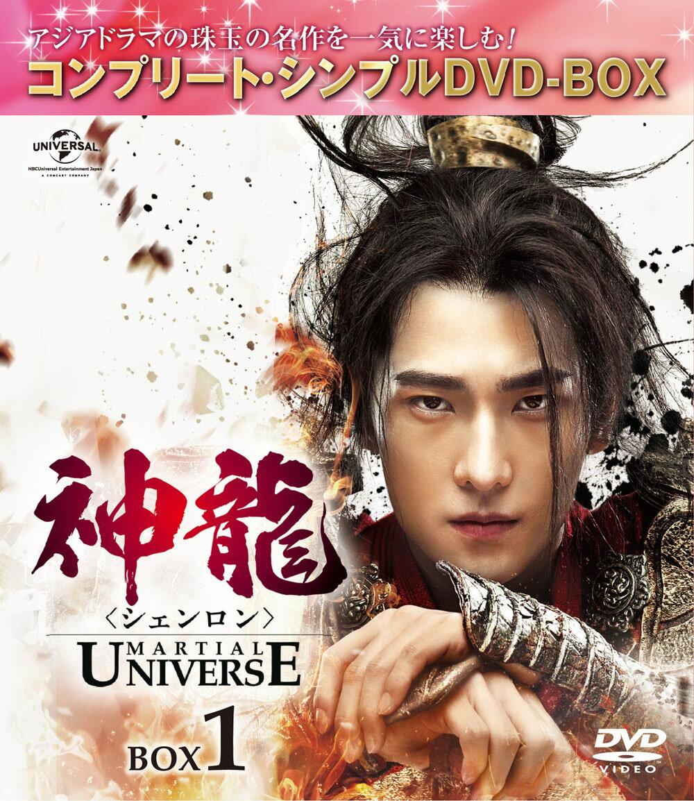神龍<シェンロン>-Martial Universe- BOX1<コンプリート・シンプルDVD-BOX5,000円シリーズ>【期間限定生産】