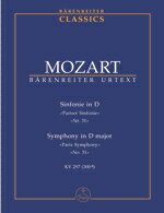 【輸入楽譜】モーツァルト, Wolfgang Amadeus: 交響曲 第31番 ニ長調 KV 297(300a) 「パリ」/原典版/ベック編: スタディ・スコア画像