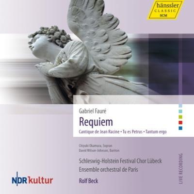 【輸入盤】レクィエム、ラシーヌの雅歌、他 ベック&アンサンブル・オルケストラル・ドゥ・パリ、シュレスヴィヒ=ホルシュタイン祝祭合唱団画像
